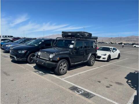2018 Jeep Wrangler JK Unlimited for sale at Dealers Choice Inc in Farmersville CA