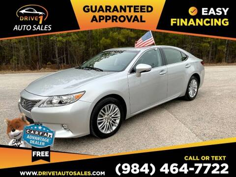 2014 Lexus ES 350 for sale at Drive 1 Auto Sales in Wake Forest NC