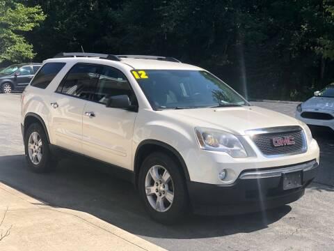 2012 GMC Acadia for sale at Elite Auto Sales in North Dartmouth MA