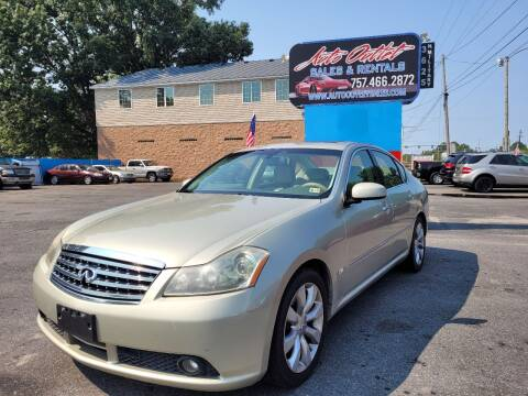 2006 Infiniti M35 for sale at Auto Outlet Sales and Rentals in Norfolk VA