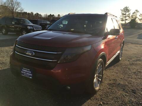 2014 Ford Explorer for sale at Complete Auto Credit in Moyock NC