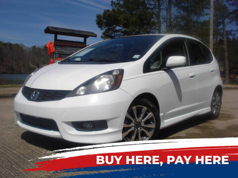 2012 Honda Fit for sale at Car Store Of Gainesville in Oakwood GA