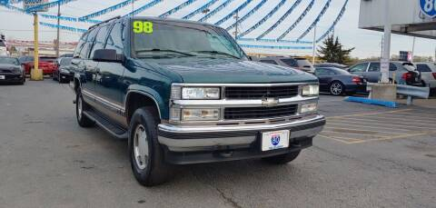1998 Chevrolet Suburban for sale at I-80 Auto Sales in Hazel Crest IL