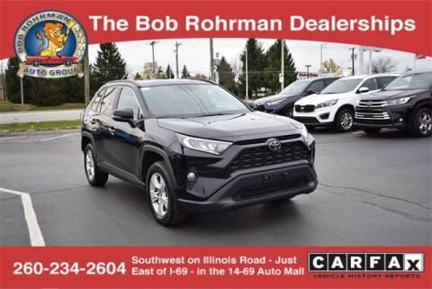 2020 Toyota RAV4 for sale at BOB ROHRMAN FORT WAYNE TOYOTA in Fort Wayne IN