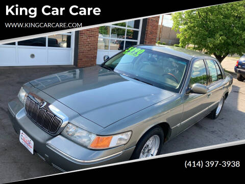 2001 Mercury Grand Marquis for sale at King Car Care in Milwaukee WI