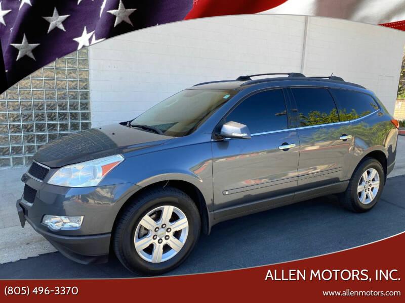 2010 Chevrolet Traverse for sale at Allen Motors, Inc. in Thousand Oaks CA