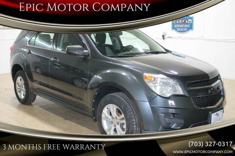 2011 Chevrolet Equinox for sale at Epic Motor Company in Chantilly VA