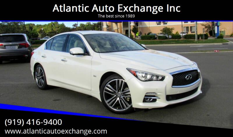 2017 Infiniti Q50 for sale at Atlantic Auto Exchange Inc in Durham NC