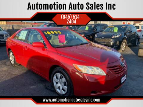 2009 Toyota Camry for sale at Automotion Auto Sales Inc in Kingston NY