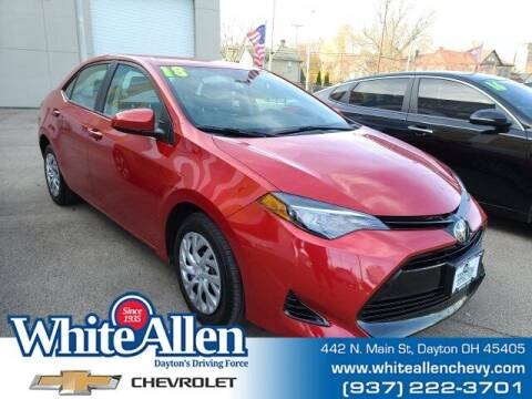 2018 Toyota Corolla for sale at WHITE-ALLEN CHEVROLET in Dayton OH