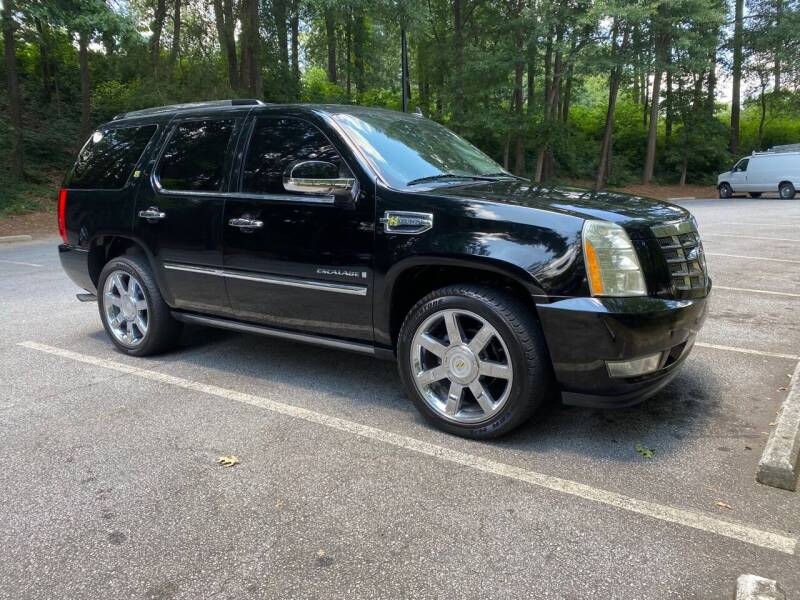 2009 Cadillac Escalade Hybrid for sale at GTO United Auto Sales LLC in Lawrenceville GA