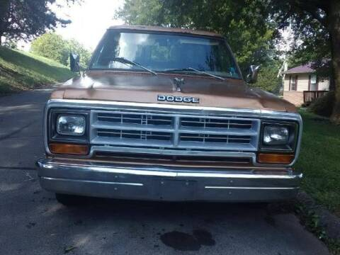 1986 Dodge D100 Pickup for sale at Classic Car Deals in Cadillac MI