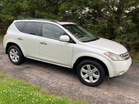 2007 Nissan Murano for sale at Kansas Car Finder in Valley Falls KS