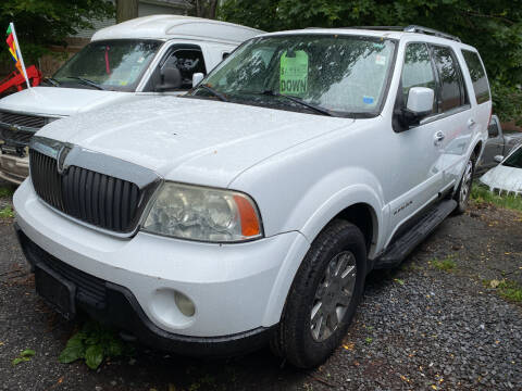 2003 Lincoln Navigator for sale at White River Auto Sales in New Rochelle NY
