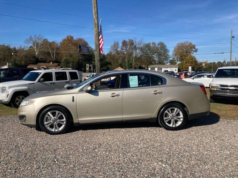 2010 Lincoln MKS for sale at Joye & Company INC, in Augusta GA