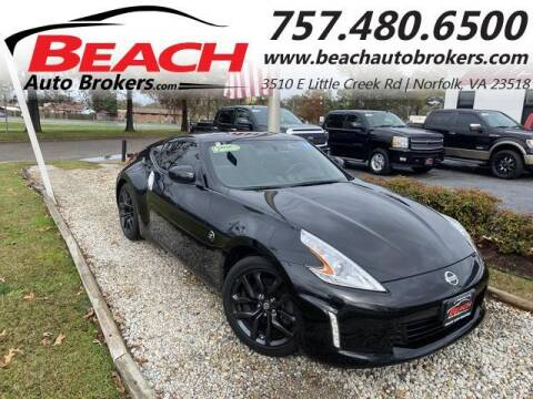 2017 Nissan 370Z for sale at Beach Auto Brokers in Norfolk VA