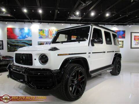 2021 Mercedes-Benz G-Class for sale at The New Auto Toy Store in Fort Lauderdale FL