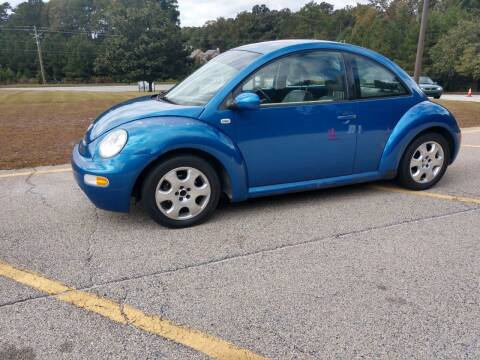2002 Volkswagen New Beetle for sale at WIGGLES AUTO SALES INC in Mableton GA