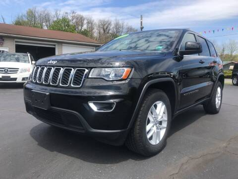 2017 Jeep Grand Cherokee for sale at Baker Auto Sales in Northumberland PA
