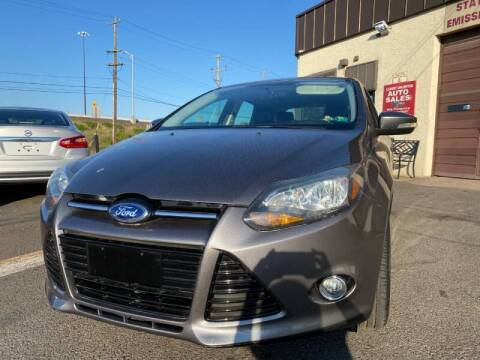 2014 Ford Focus for sale at Luxury Unlimited Auto Sales Inc. in Trevose PA