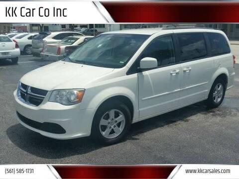 2013 Dodge Grand Caravan for sale at KK Car Co Inc in Lake Worth FL