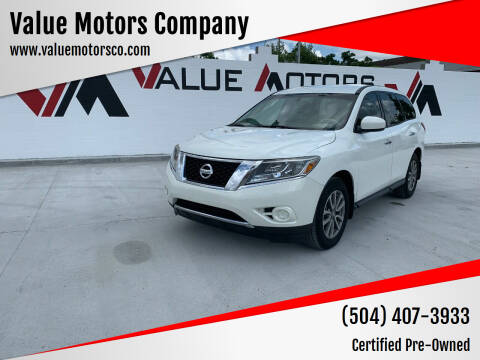 2014 Nissan Pathfinder for sale at Value Motors Company in Marrero LA