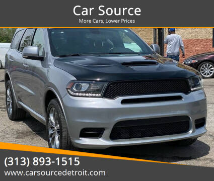 2019 Dodge Durango for sale at Car Source in Detroit MI