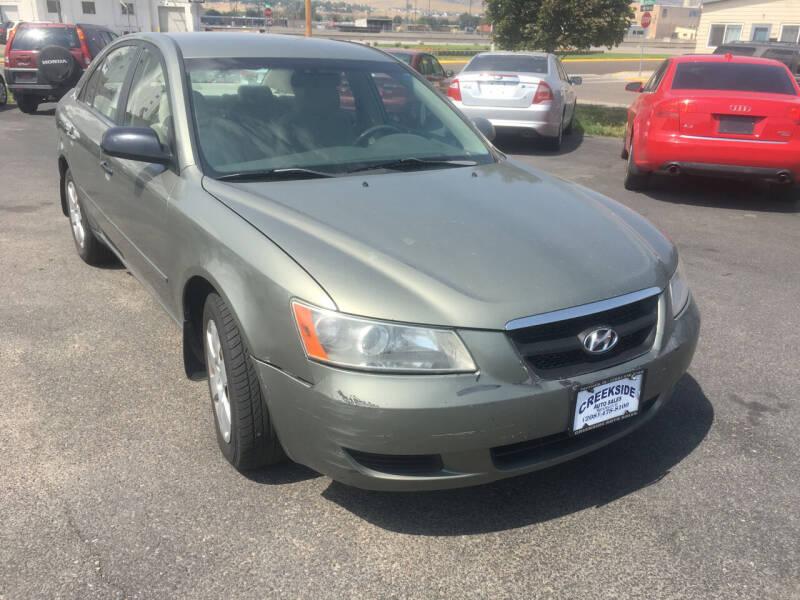 2007 Hyundai Sonata for sale at Creekside Auto Sales in Pocatello ID