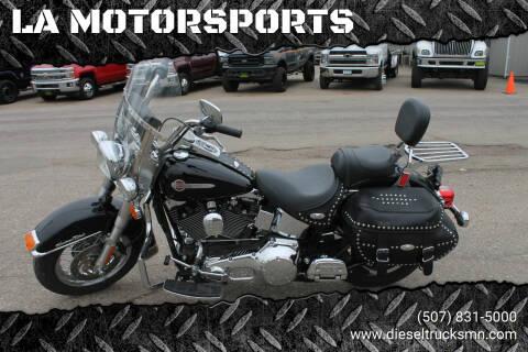 2002 Harley-Davidson HERITAGE SOFTTAIL FLSTC for sale at LA MOTORSPORTS in Windom MN