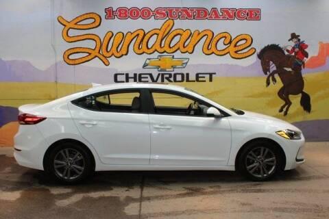 2017 Hyundai Elantra for sale at Sundance Chevrolet in Grand Ledge MI