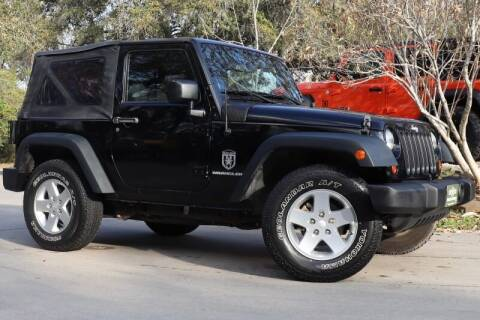 2013 Jeep Wrangler for sale at SELECT JEEPS INC in League City TX