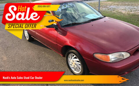 1999 Ford Escort for sale at Nash's Auto Sales Used Car Dealer in Milton FL