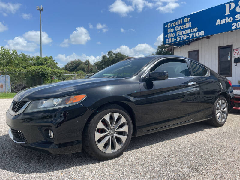 2013 Honda Accord for sale at P & A AUTO SALES in Houston TX