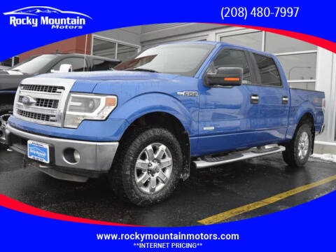 2014 Ford F-150 for sale at Rocky Mountain Motors in Idaho Falls ID