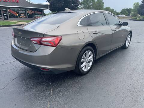 2020 Chevrolet Malibu for sale at Hawkins Motors Sales in Hillsdale MI