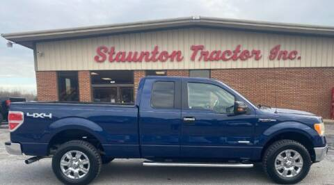 2011 Ford F-150 for sale at STAUNTON TRACTOR INC in Staunton VA