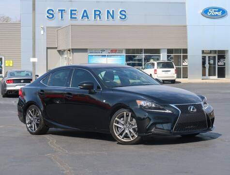 2014 Lexus IS 350 for sale at Stearns Ford in Burlington NC