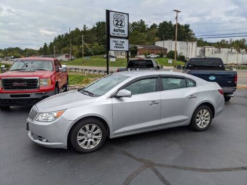 2012 Buick LaCrosse for sale at Route 22 Autos in Zanesville OH