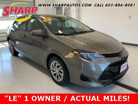 2019 Toyota Corolla for sale at Sharp Automotive in Watertown SD