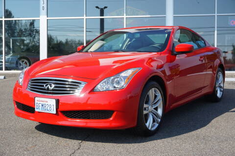 2009 Infiniti G37 Coupe for sale at West Coast Auto Works in Edmonds WA