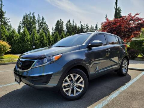 2015 Kia Sportage for sale at Silver Star Auto in Lynnwood WA