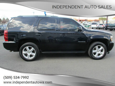 2008 Chevrolet Tahoe for sale at Independent Auto Sales in Spokane Valley WA