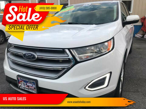 2016 Ford Edge for sale at US AUTO SALES in Baltimore MD
