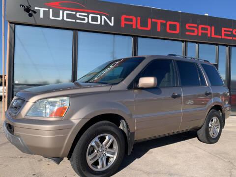 2003 Honda Pilot for sale at Tucson Auto Sales in Tucson AZ