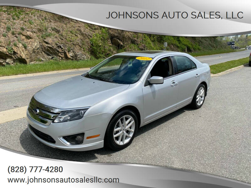 2012 Ford Fusion for sale at Johnsons Auto Sales, LLC in Marshall NC