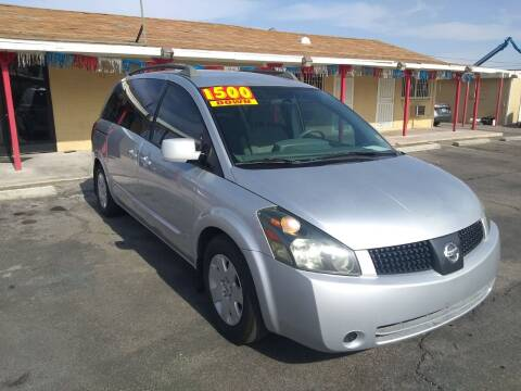 2005 Nissan Quest for sale at Car Spot in Las Vegas NV