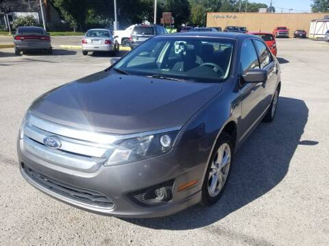 2012 Ford Fusion for sale at D & D All American Auto Sales in Mt Clemens MI