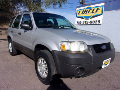 2007 Ford Escape for sale at Circle Auto Center in Colorado Springs CO