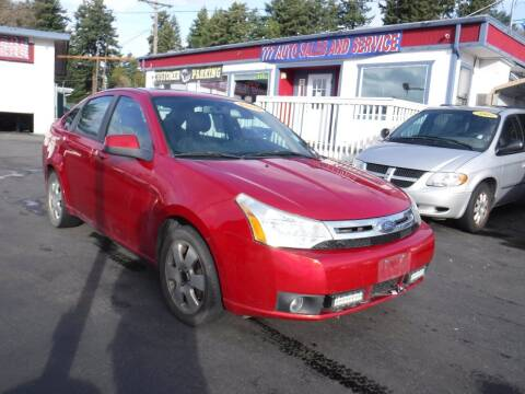 2009 Ford Focus for sale at 777 Auto Sales and Service in Tacoma WA