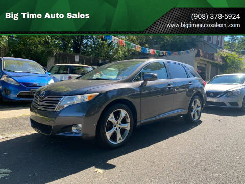 2009 Toyota Venza for sale at Big Time Auto Sales in Vauxhall NJ